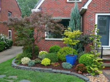 Arrangement Of A Neat Red Brick To Beautify The Exterior Of The House 17