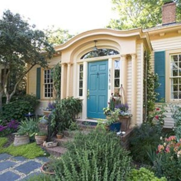 Best Exterior House Paint Color Combinations 09