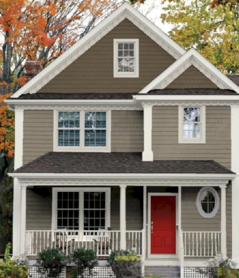Best Exterior House Paint Color Combinations 18