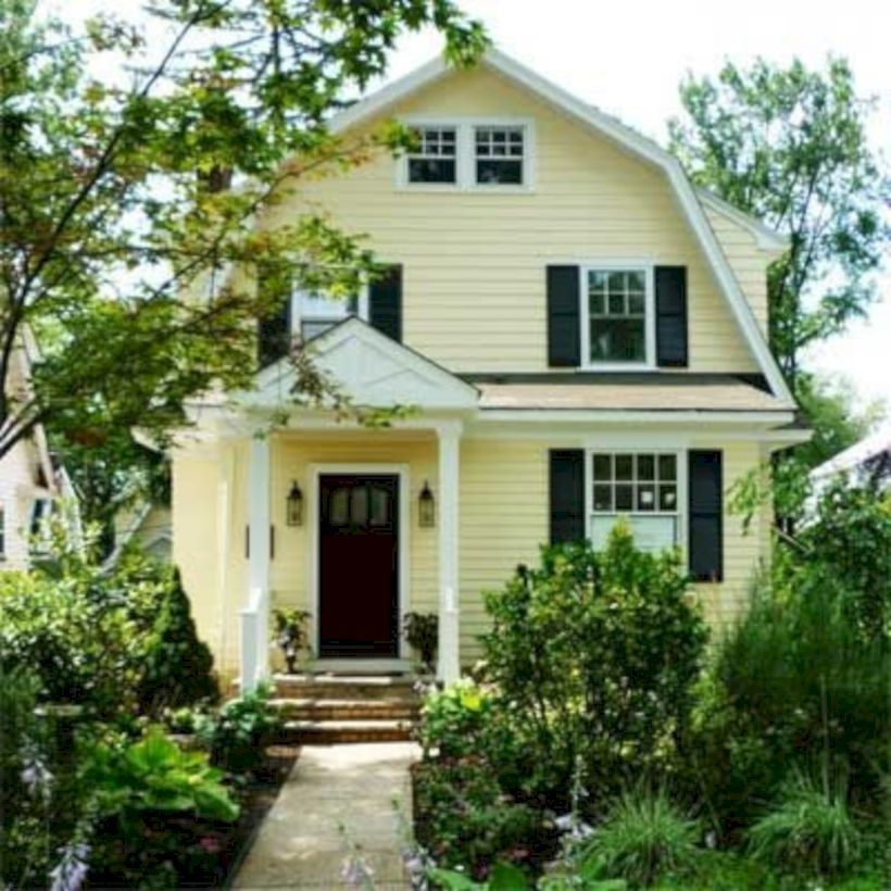 Best Exterior House Paint Color Combinations 24
