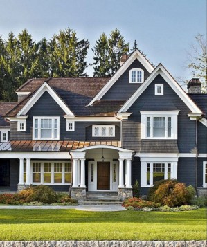 Best Exterior House Paint Color Combinations 25