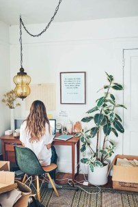 Bohemian Home Office Decor To Inspiration 05