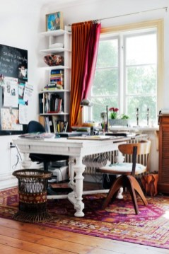 Bohemian Home Office Decor To Inspiration 14