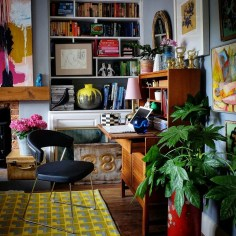 Bohemian Home Office Decor To Inspiration 29