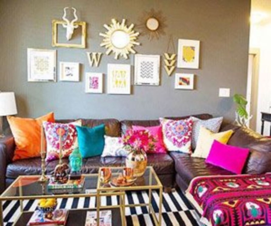 Bohemian Style Home Decor Ideas 24