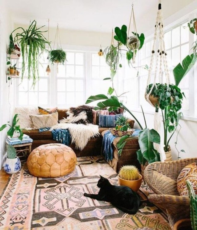 Bohemian Style Home Decor Ideas 26