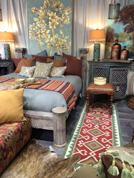Bohemian Style Home Decor Ideas 27