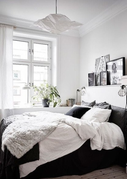 Cozy Bedroom Ideas For Your Tiny Apartment 13