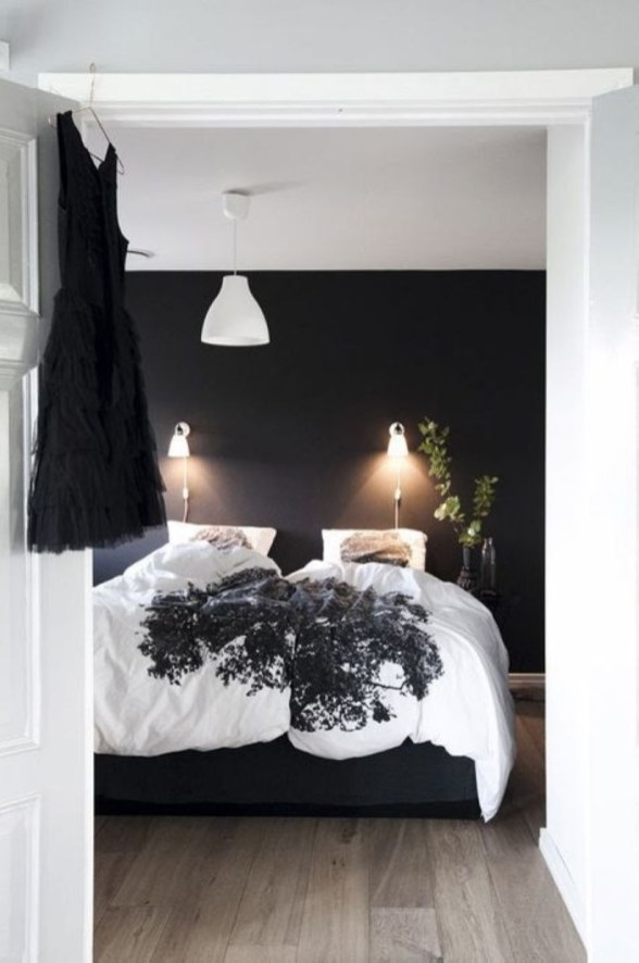 Cozy Bedroom Ideas For Your Tiny Apartment 17
