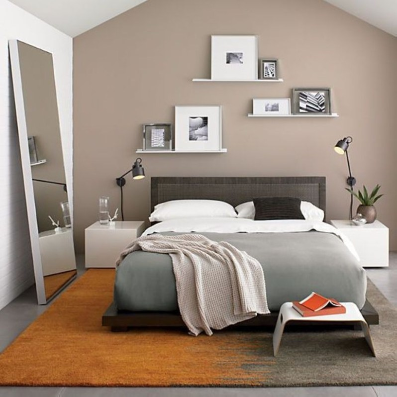 Cozy Bedroom Ideas For Your Tiny Apartment 34