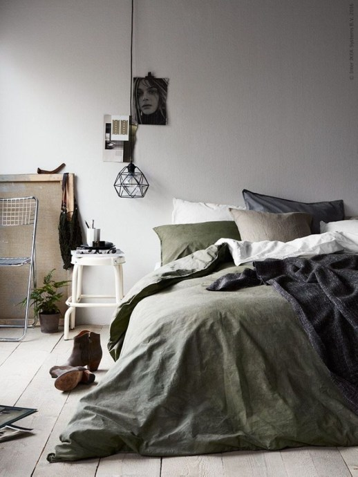 Cozy Bedroom Ideas For Your Tiny Apartment 39