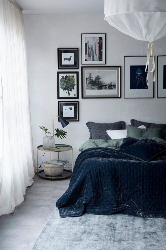 Cozy Bedroom Ideas For Your Tiny Apartment 45