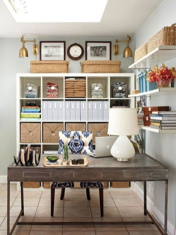 Craft Room Storage Projects For Your Home Office 06