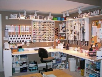 Craft Room Storage Projects For Your Home Office 09
