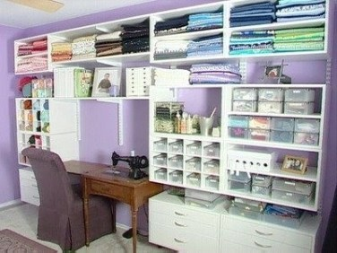 Craft Room Storage Projects For Your Home Office 17