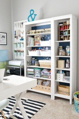 Craft Room Storage Projects For Your Home Office 29