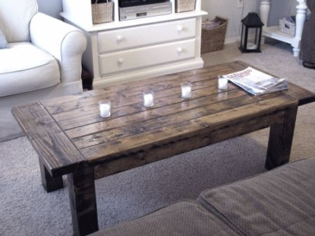 DIY Rustic Wood Furniture Ideas 13