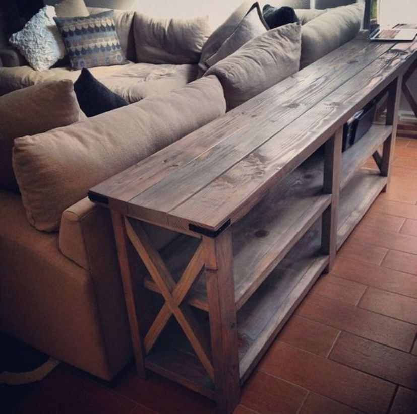 DIY Rustic Wood Furniture Ideas 14