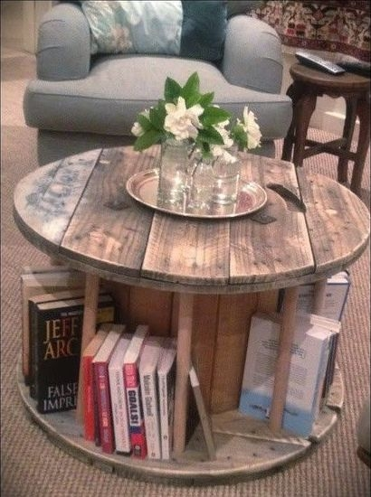 DIY Rustic Wood Furniture Ideas 27