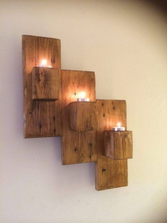 Easy DIY Ideas For Old Pallet Wood 20
