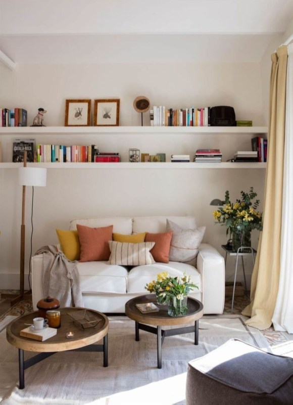 Neat And Cozy Living Room Ideas For Small Apartment 15