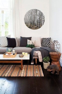 Neat And Cozy Living Room Ideas For Small Apartment 34