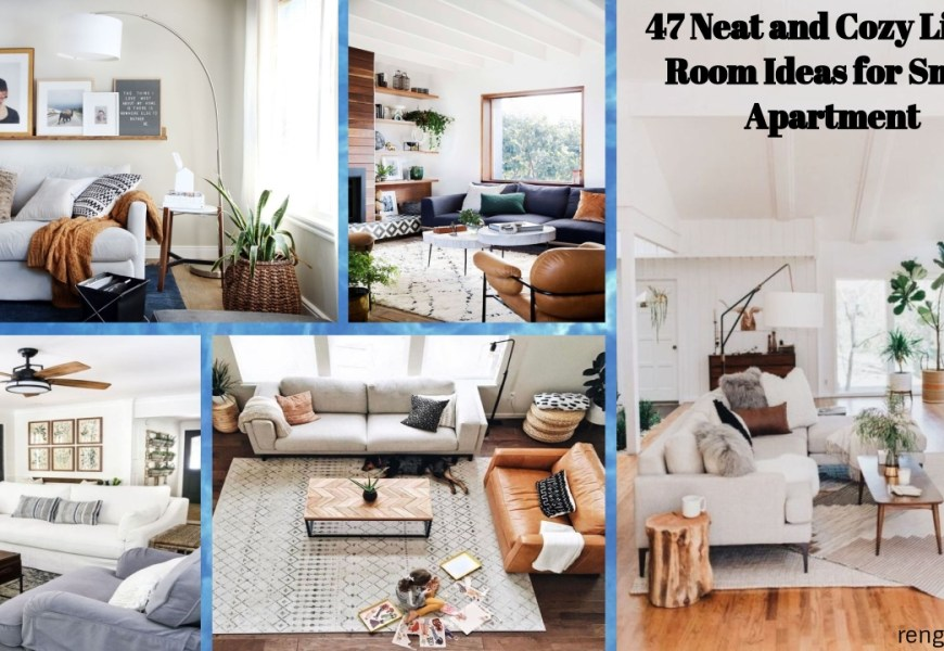 47 Neat And Cozy Living Room Ideas For Small Apartment Rengusuk Com