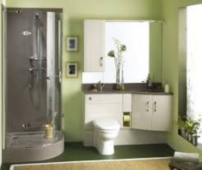 Small Bathroom Makeovers That Give Us Hope 36