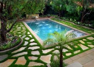 Suitable Plants Grow Beside Swimming Pool 23