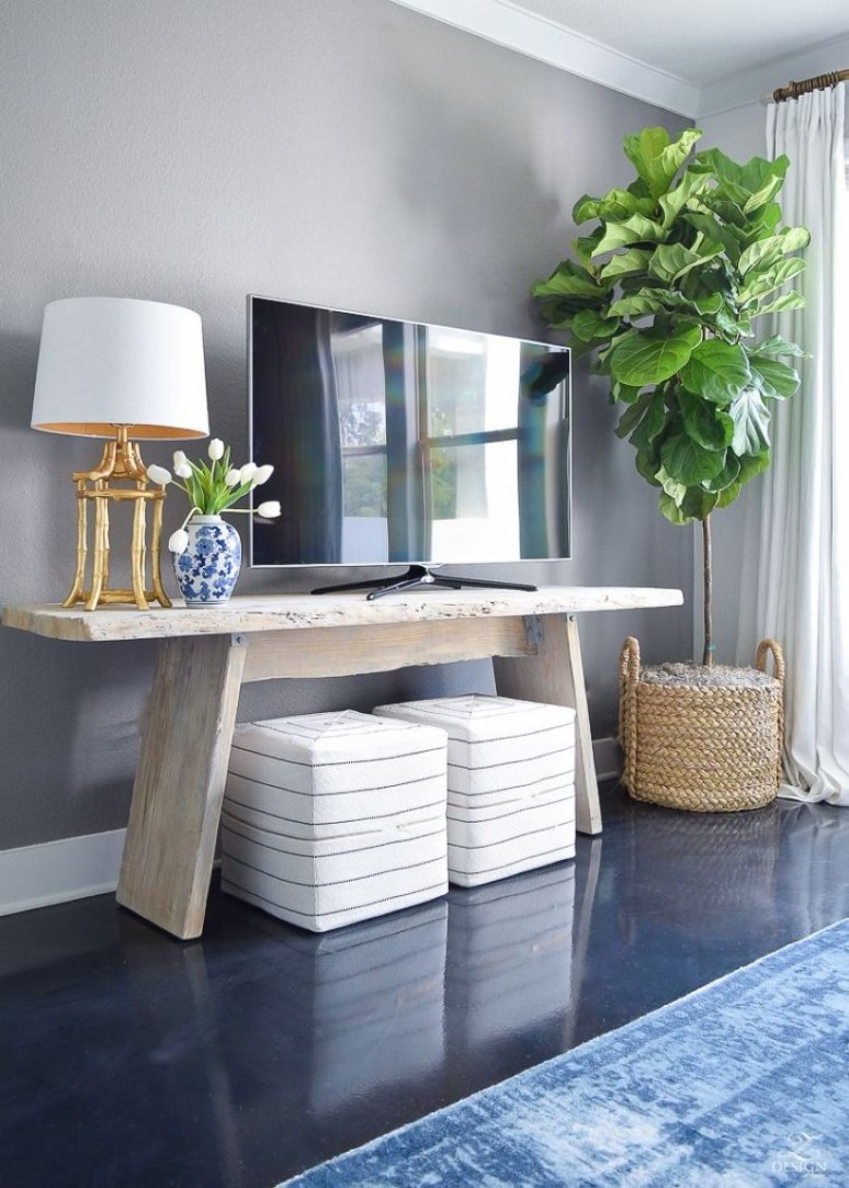 The Best Tv Table To Enhance Your Home Decor 42