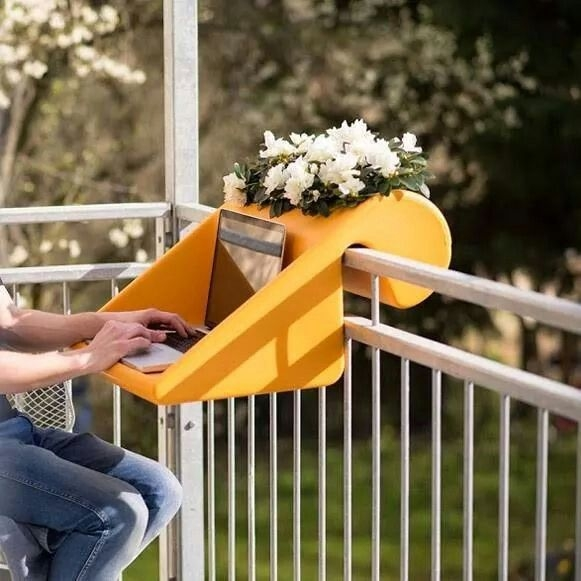 Unique Space Saving Accessories For Your Balcony06