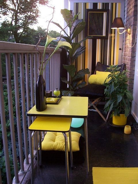 Unique Space Saving Accessories For Your Balcony08