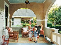 Ways To Create A Relaxing Porch For Big Family 02
