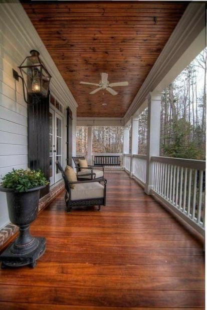 Ways To Create A Relaxing Porch For Big Family 09