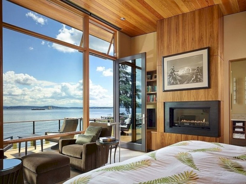 Modern Airy Home Design With Amazing Lake Views 14