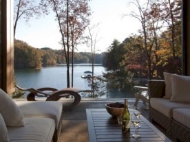 Modern Airy Home Design With Amazing Lake Views 33