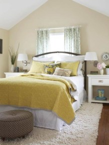 Yellow Bedroom For Your Child's Room Idea To Sleep Feels Warm 16