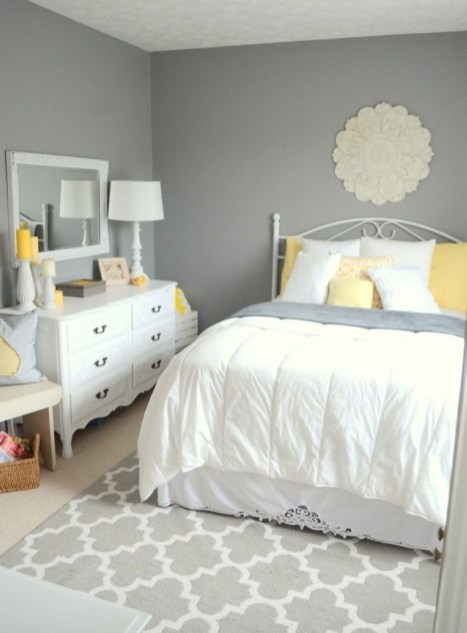 Yellow Bedroom For Your Child's Room Idea To Sleep Feels Warm 18