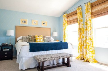 Yellow Bedroom For Your Child's Room Idea To Sleep Feels Warm 21