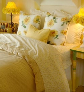 Yellow Bedroom For Your Child's Room Idea To Sleep Feels Warm 34