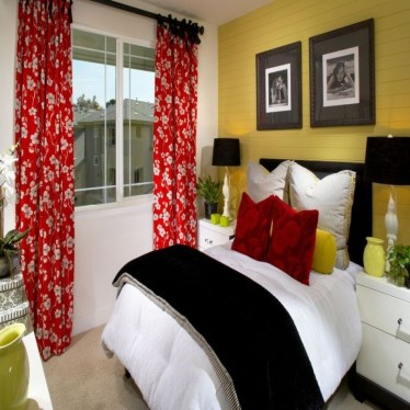 Yellow Bedroom For Your Child's Room Idea To Sleep Feels Warm 46