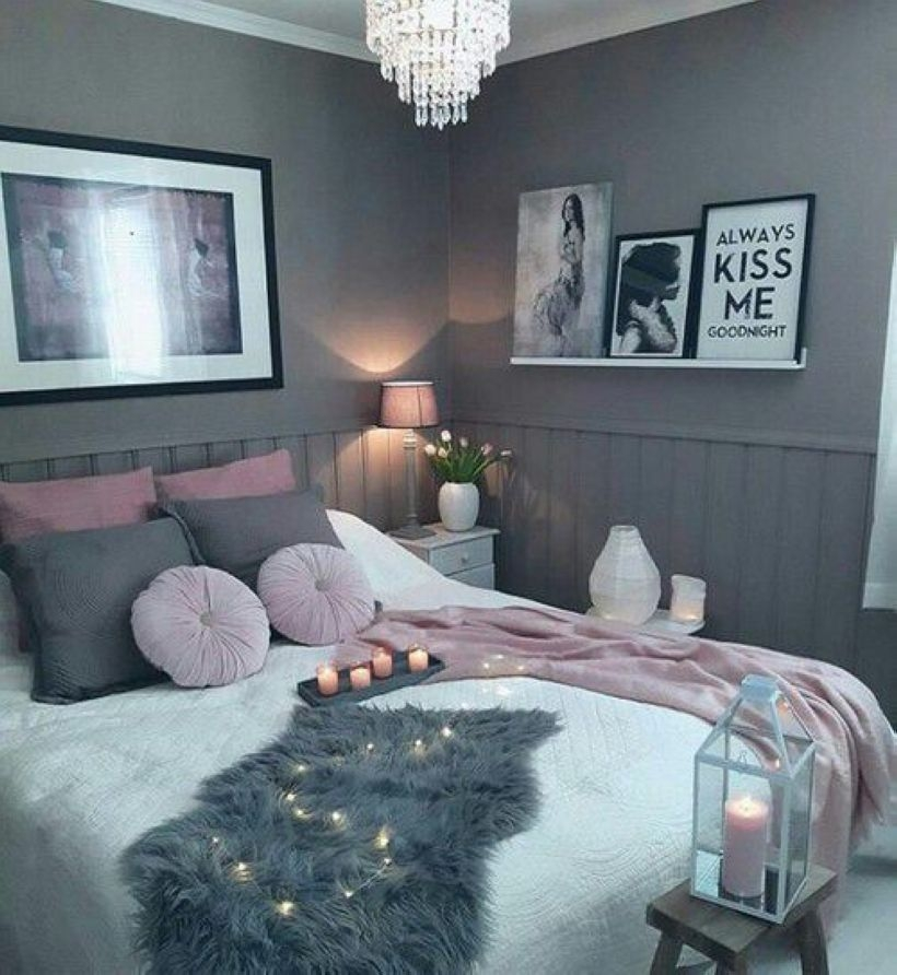 Cozy Teen Bedroom Decoration On Pink Style 09