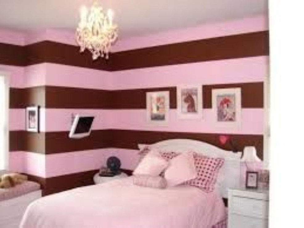 Cozy Teen Bedroom Decoration On Pink Style 11