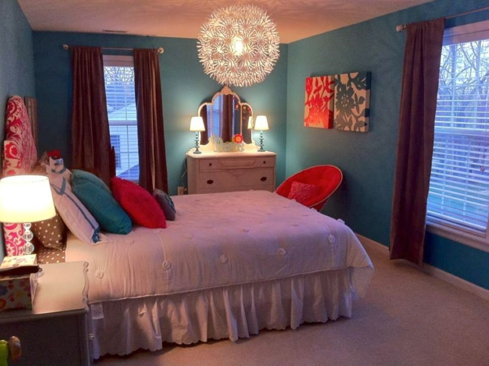 Cozy Teen Bedroom Decoration On Pink Style 13