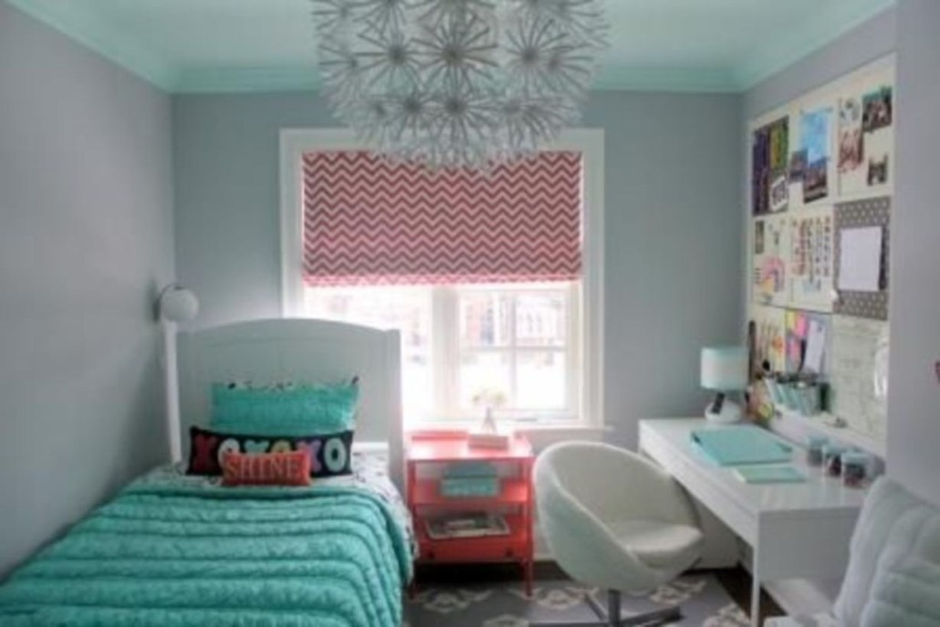 Cozy Teen Bedroom Decoration On Pink Style 16