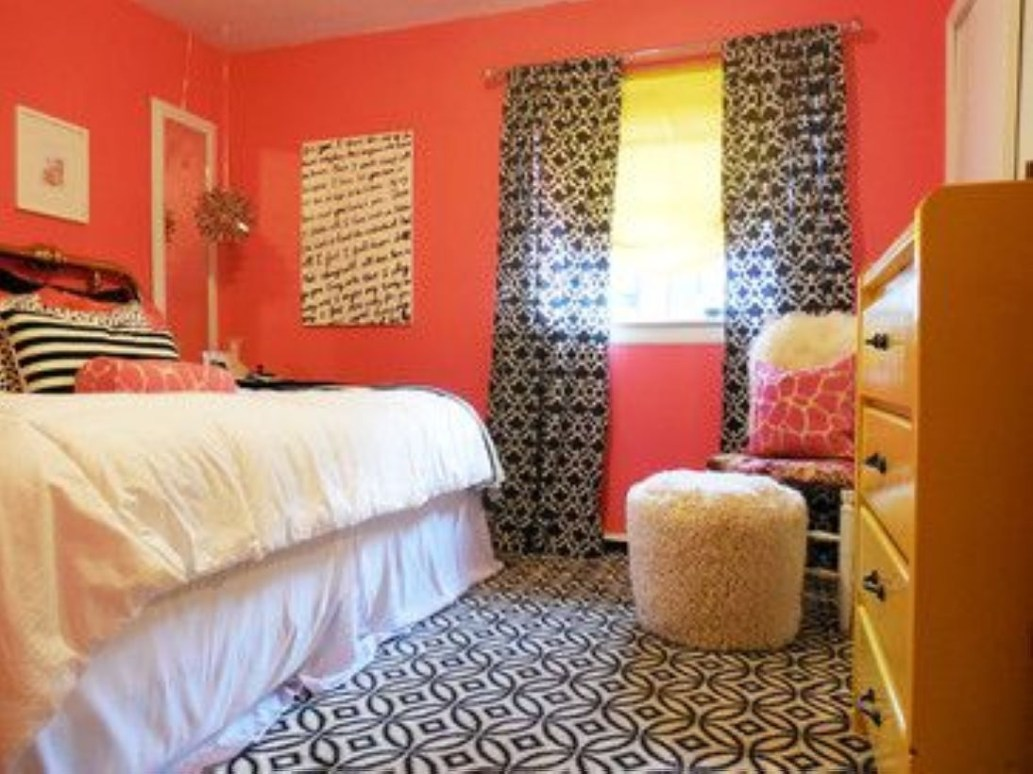 Cozy Teen Bedroom Decoration On Pink Style 36