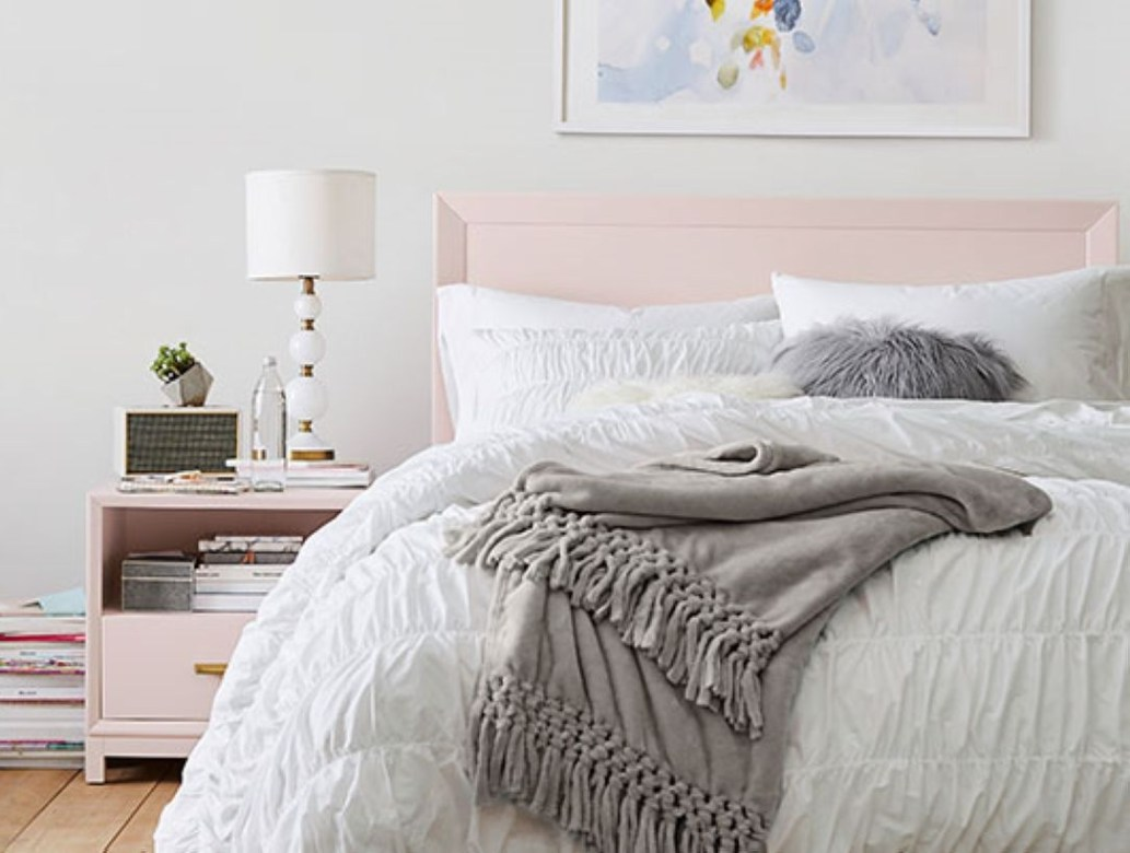 Cozy Teen Bedroom Decoration On Pink Style 37