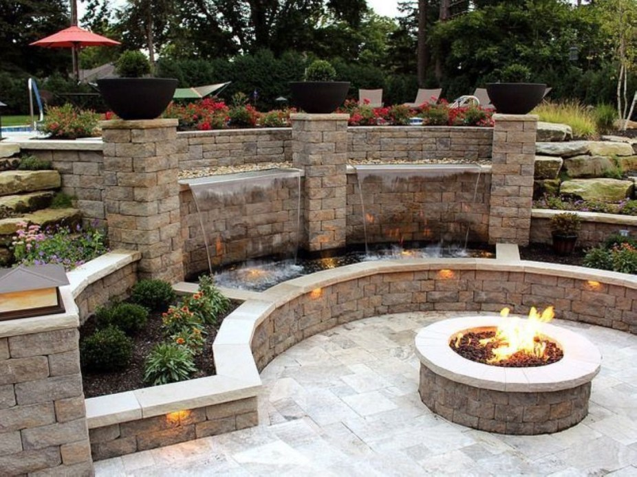 How To Make DIY Fire Pit In Garden With Low Budget 15