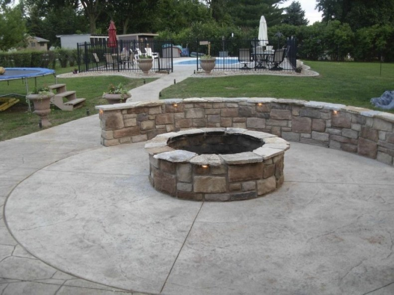 How To Make DIY Fire Pit In Garden With Low Budget 16