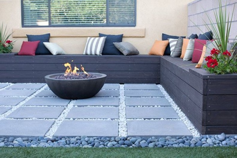 How To Make DIY Fire Pit In Garden With Low Budget 18